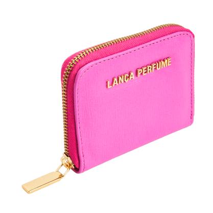Carteira Lança Perfume Rosa Pitaya - Pequena