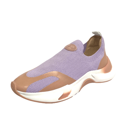 Tênis Fiever Dash Motion Roxo Lilás Slip On