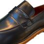 Sapato Social Viccini Preto Houston-12 Couro